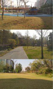 늘솔길공원-조경