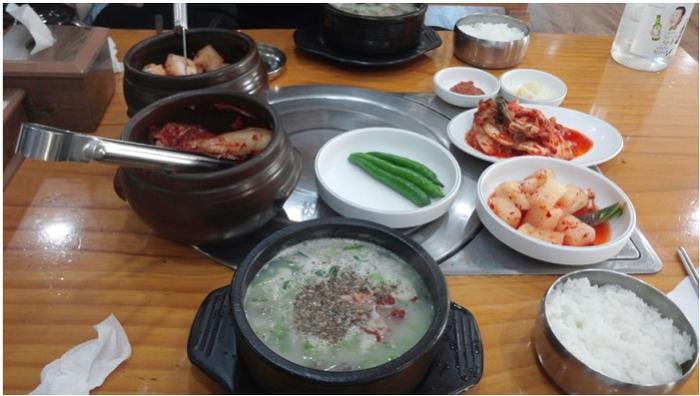 인천논현동 남동공단 먹거리타운 순대국밥 추천