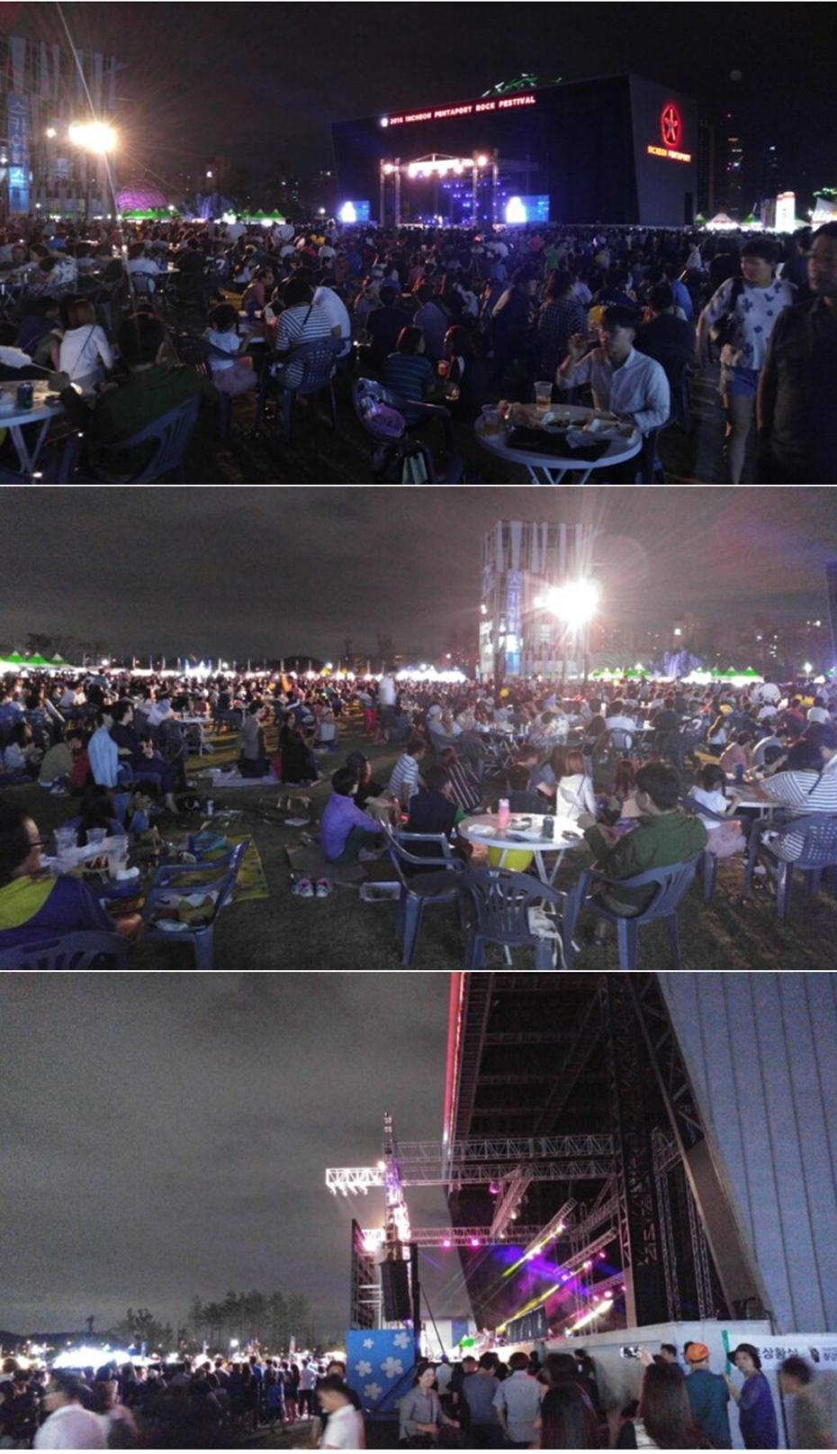 송도-세계문화축제-맥주축제-모습