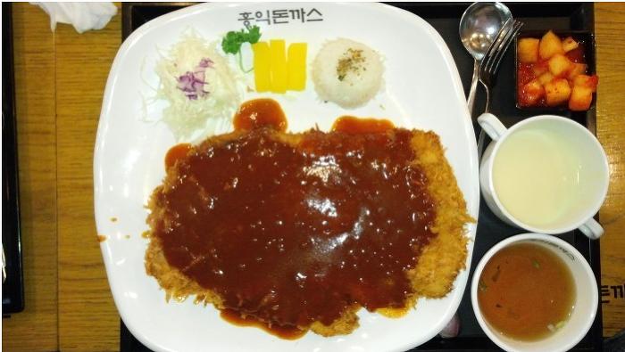 인천도림동맛집 홍익돈까스 준비된 음식만 팔아요!