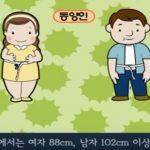 비만의 원인, 증상, 진단법, 치료방법 및 예방법 관련 동영상
