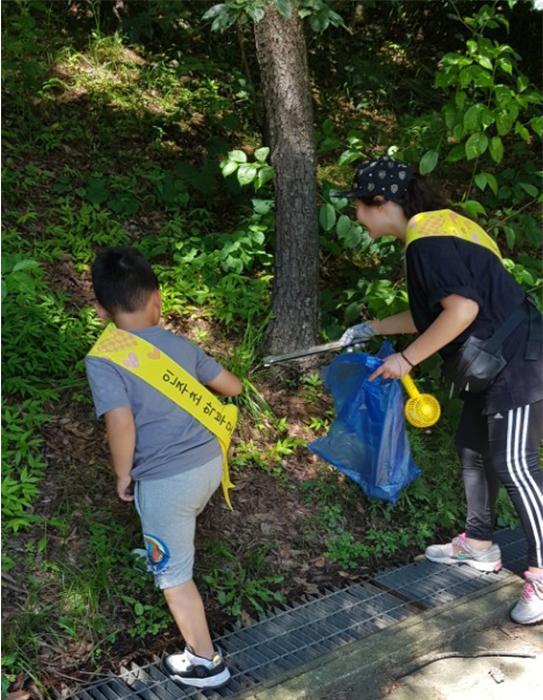 인주초등학교-학부모회-가족봉사단-봉사활동