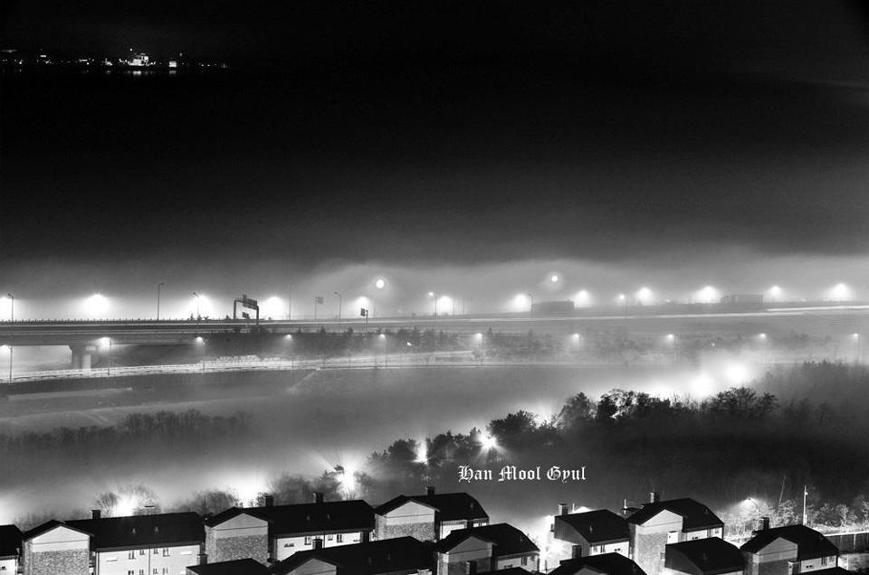 인천논현동-밤안개