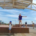 인천 가족나들이추천 송도 바다가 보이는 솔찬공원 아시나요?
