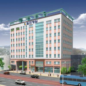 인천논현동 종합병원 하늘마을3단지 앞 힘찬병원 신축 예정