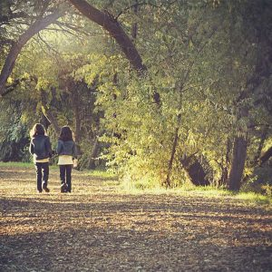 산책이 아이들에게 주는 효과