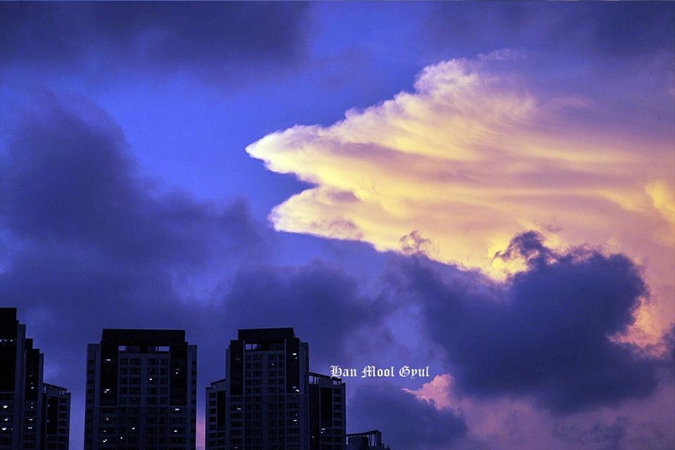 소래포구-하늘구름