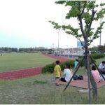 인천가족 나들이 송도 LNG 종합스포츠타운 캠핑장