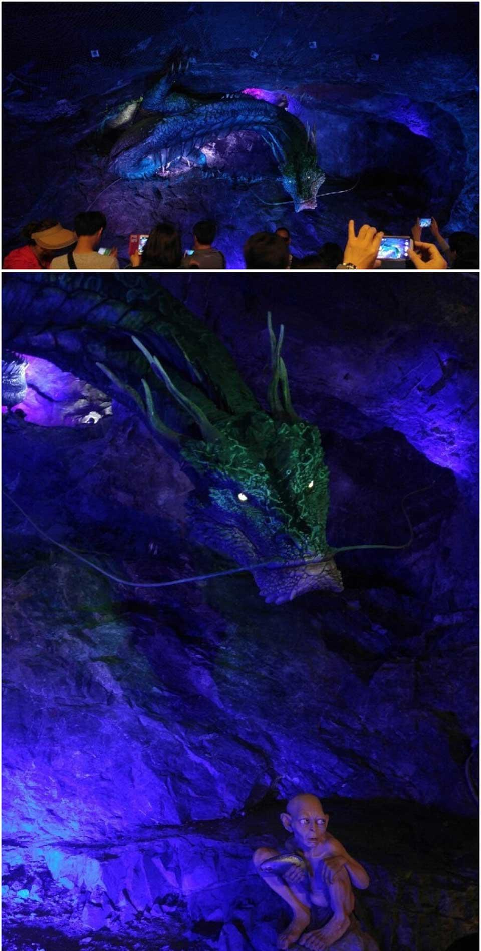 광명동굴-반지의-제왕-조형물