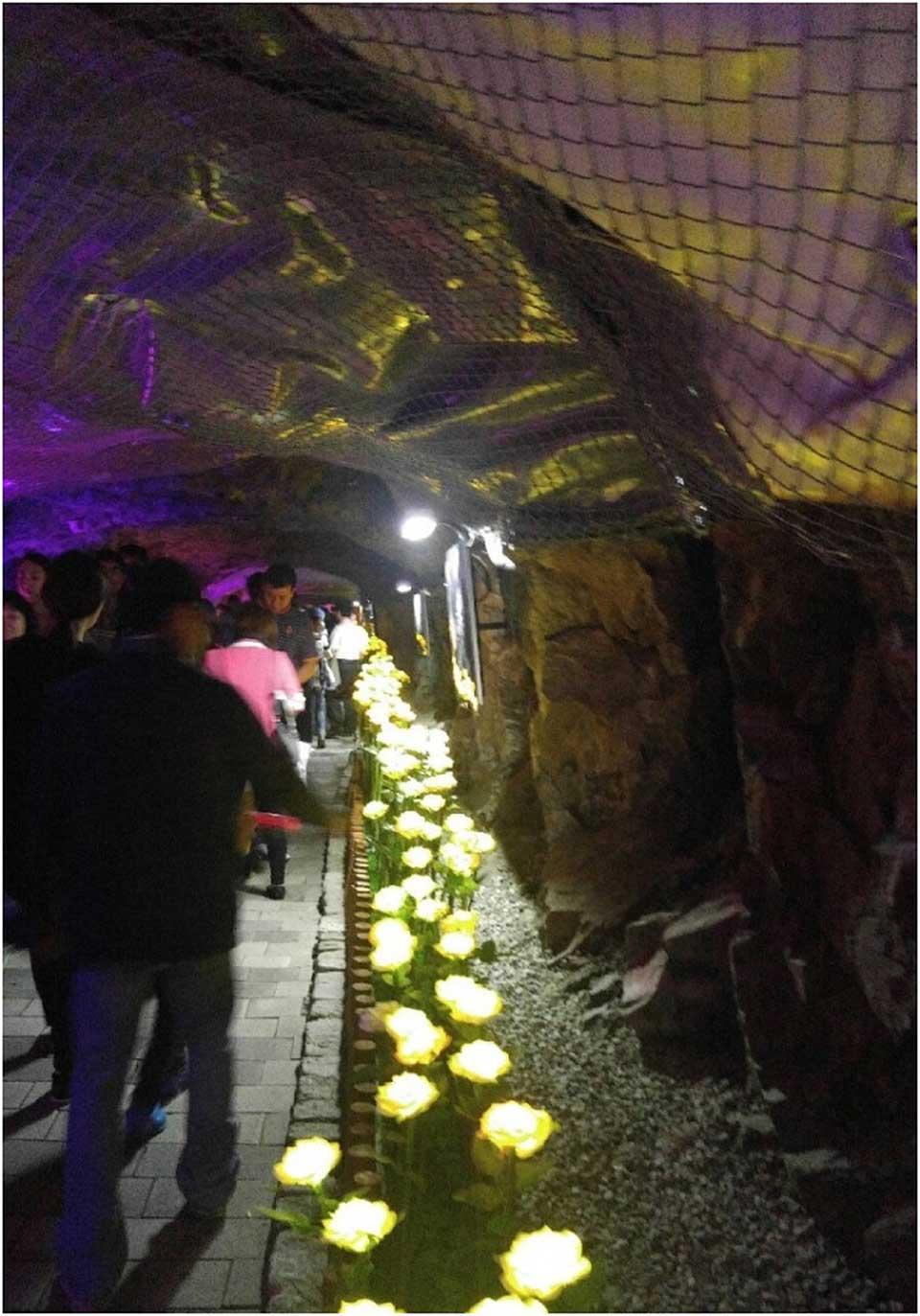 광명동굴-초입-내부