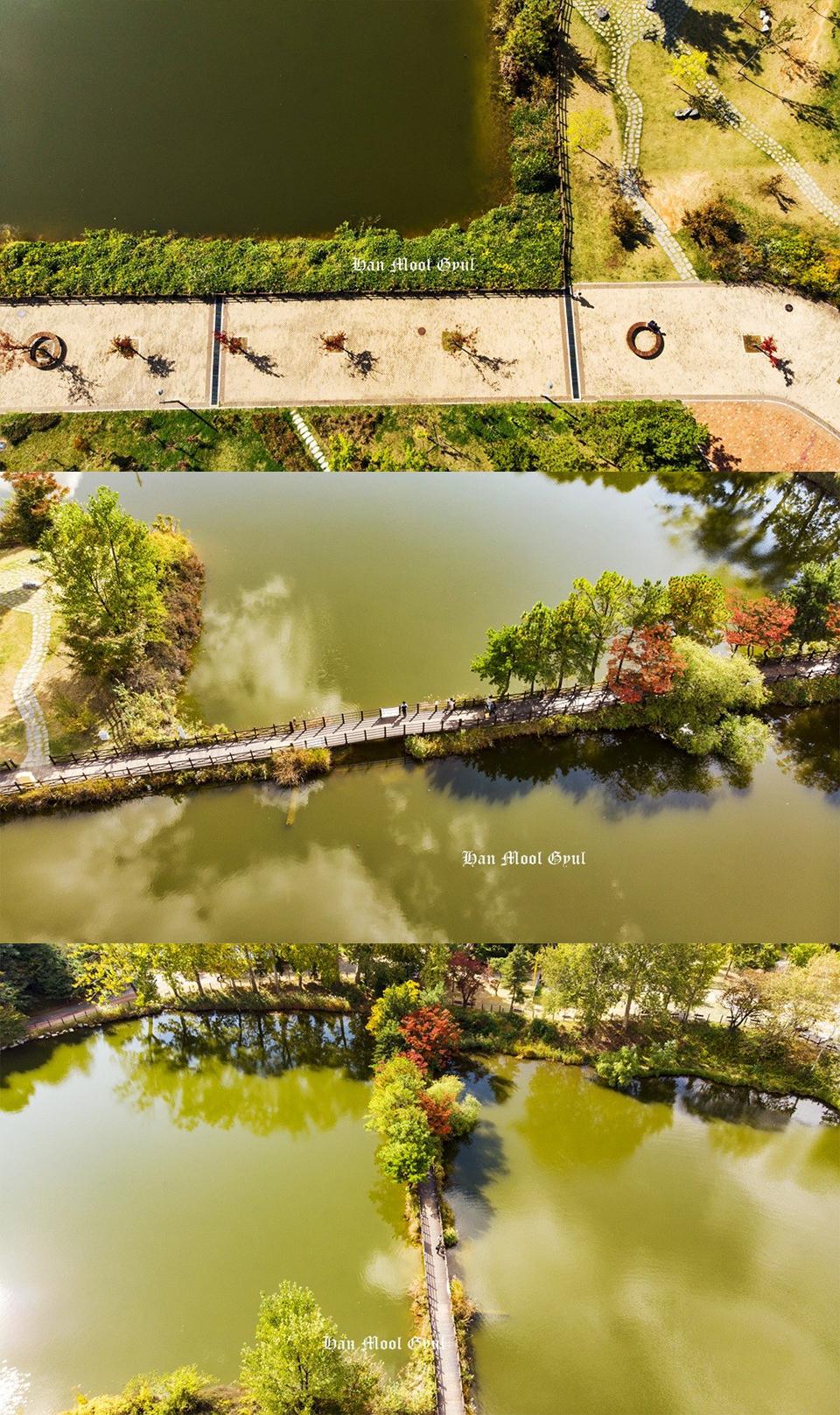 인천논현동-늘솔길공원-가을-연못