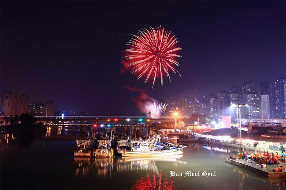 2018-소래포구축제-불꽃놀이