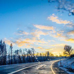 겨울철 안전운전 블랙아이스 야간 그늘진곳 조심!!