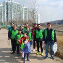 논현동 주민자치위원 및 가족 장수천 자원봉사