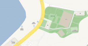 대부도공원-방아머리해수욕장-지도