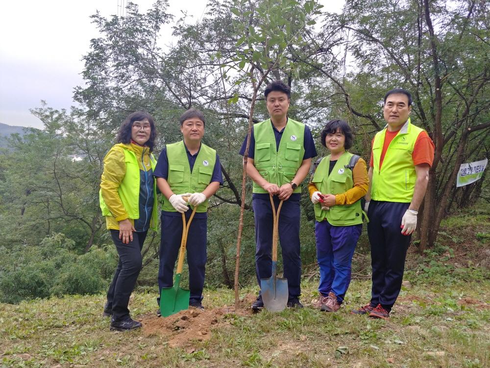 소래산 환경정화 나무심기 산불예방 (2)