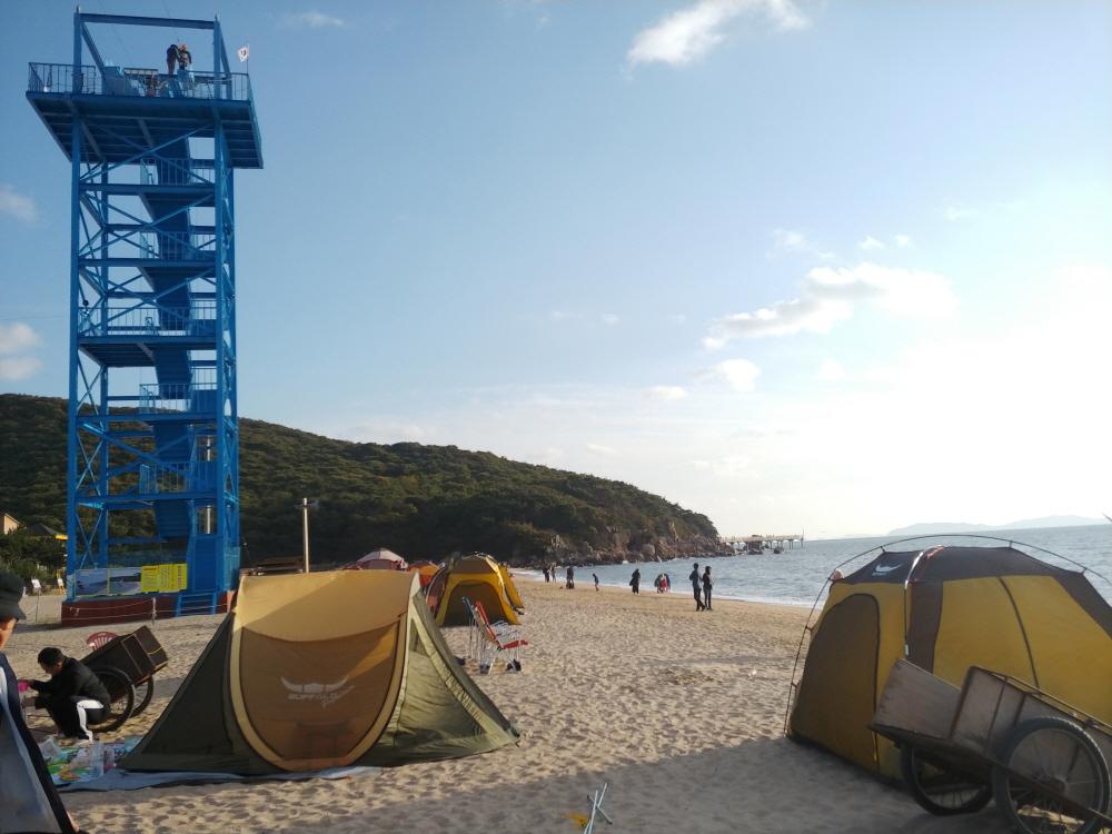 인천 무의도 하나개 해수욕장 (1)