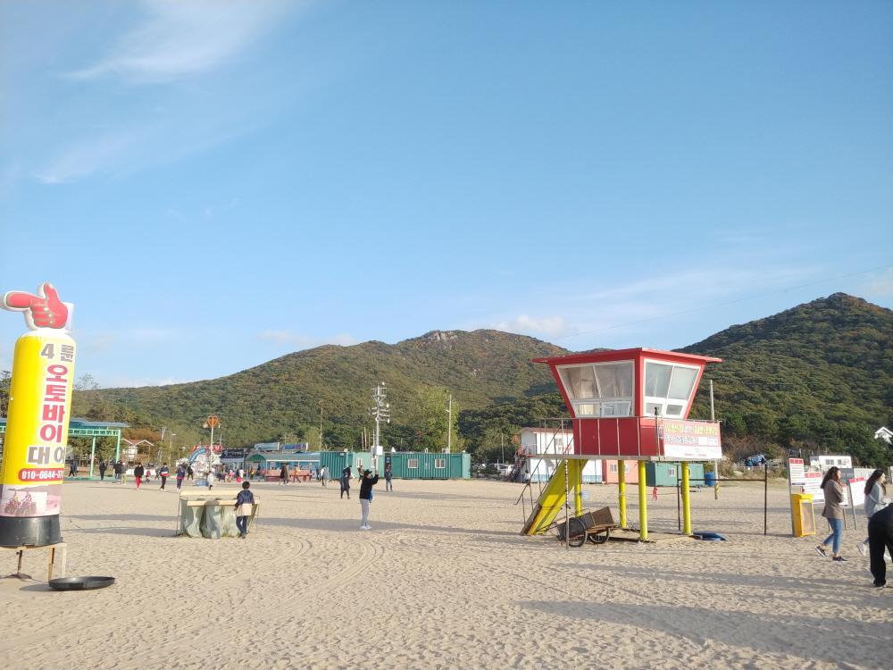 인천 무의도 하나개 해수욕장 (4)