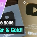 유튜브 동영상 음악 BTS WORLD We've gone Silver & Gold!