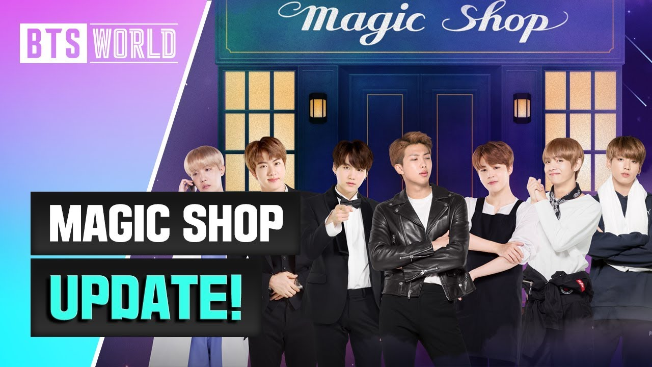 유튜버 BTS WORLD 음악 MAGIC SHOP Update!