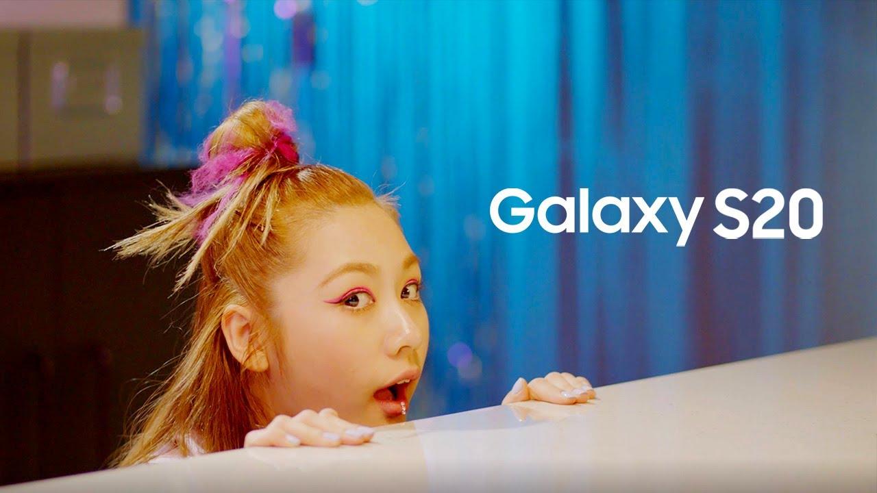 유튜브동영상 댄스 The fun starts with 1MILLION X Samsung Galaxy S20