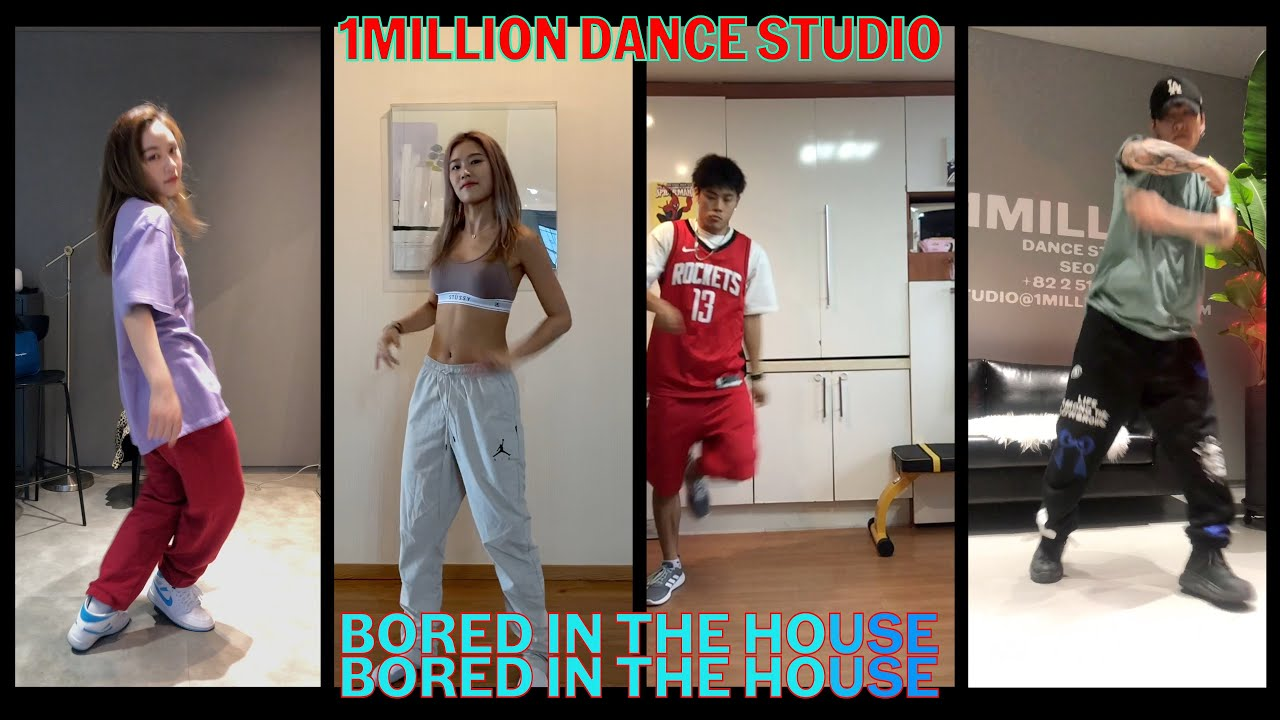 댄스 유튜버 When 1MILLION choreographers are Bored In The House