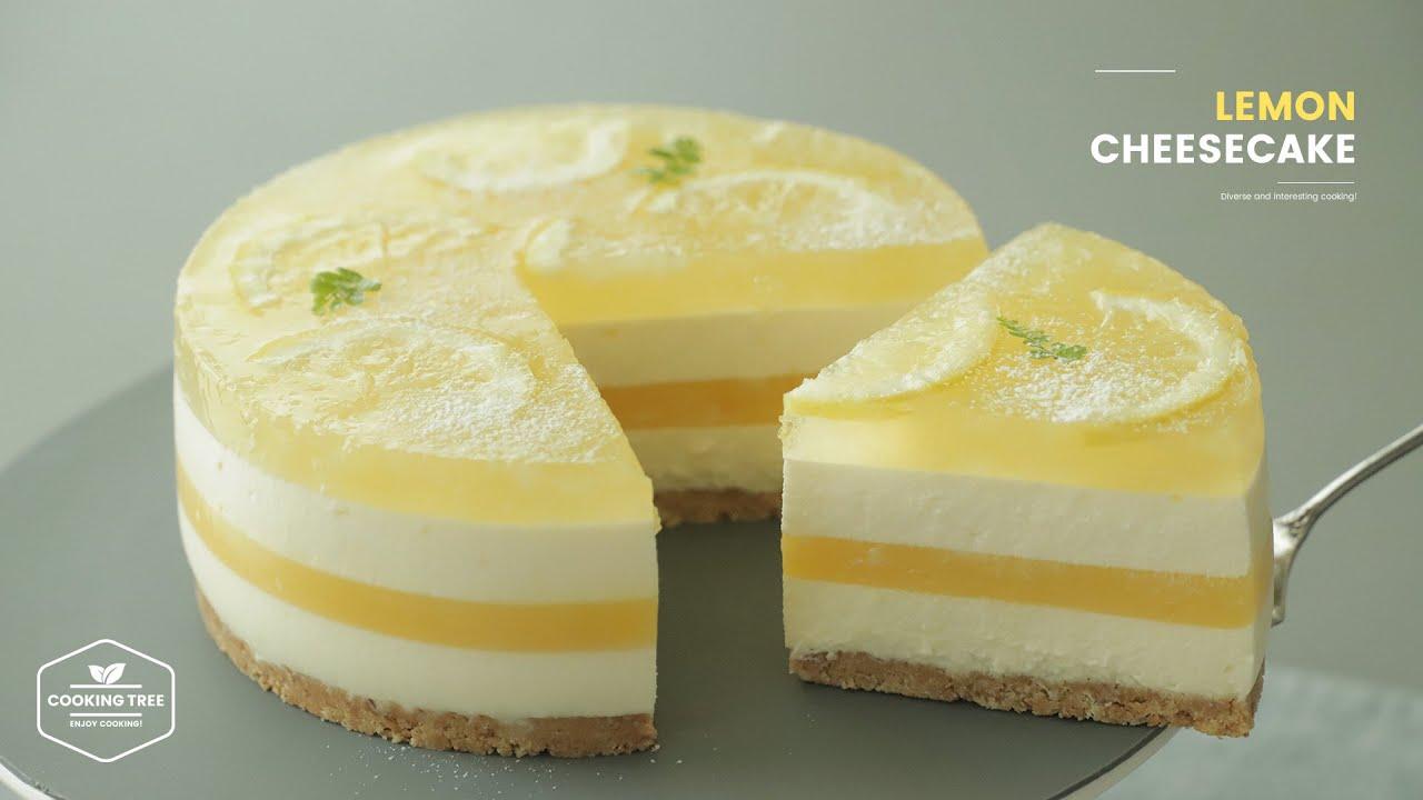 동영상 요리레시피 레몬 치즈케이크 만들기